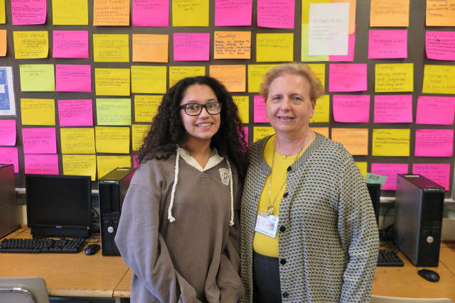 Bergenfield middle schooler Amal Yazeji achieved a perfect score of 20 in the first round of the national vocabulary competition, WordMasters Challenge.