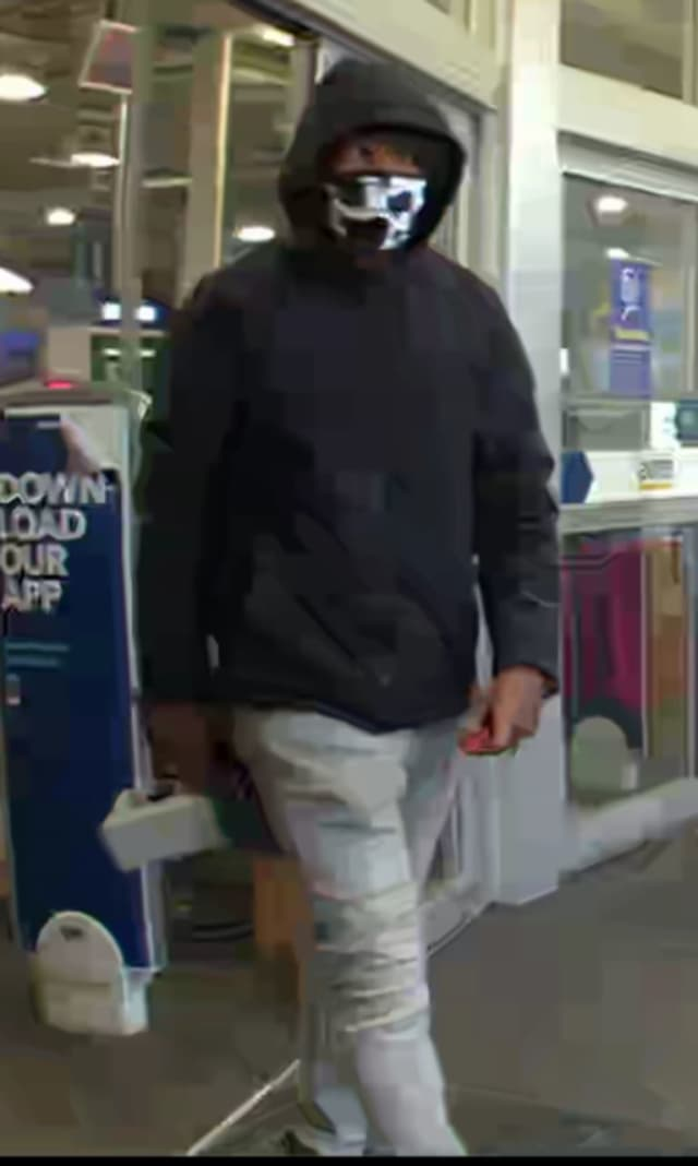 Know him? Police are asking the public for help identifying a man who allegedly stole items from a Best Buy store.