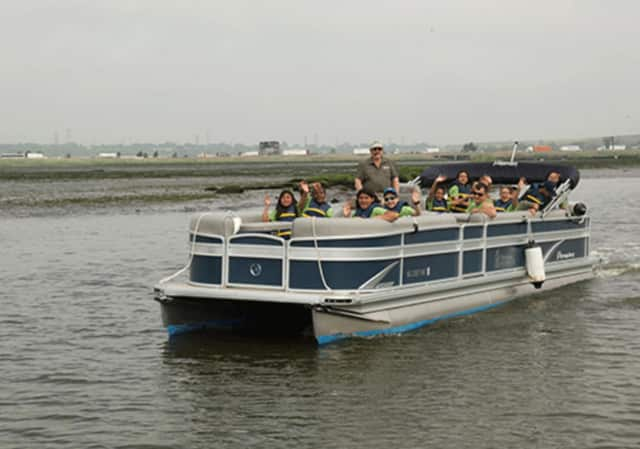 The Hackensack Riverkeeper is providing boat rides on the Hackensack River