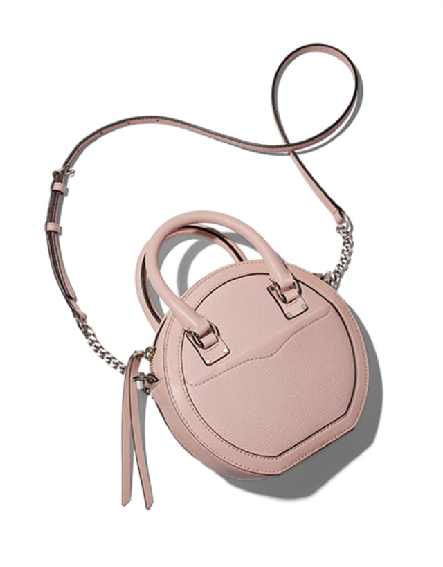(7) Rebecca Minkoff's Round Crossbody Bag, $195. Photograph courtesy Bloomingdale's Westchester.
