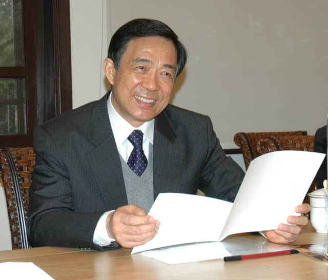 "Chongqing's popular mayor and Communist Party of China secretary, Bo Xilai, was the fi rst ""tiger"" to be brought down in the anti-corruption campaign. Here he is shortly before he was purged."
