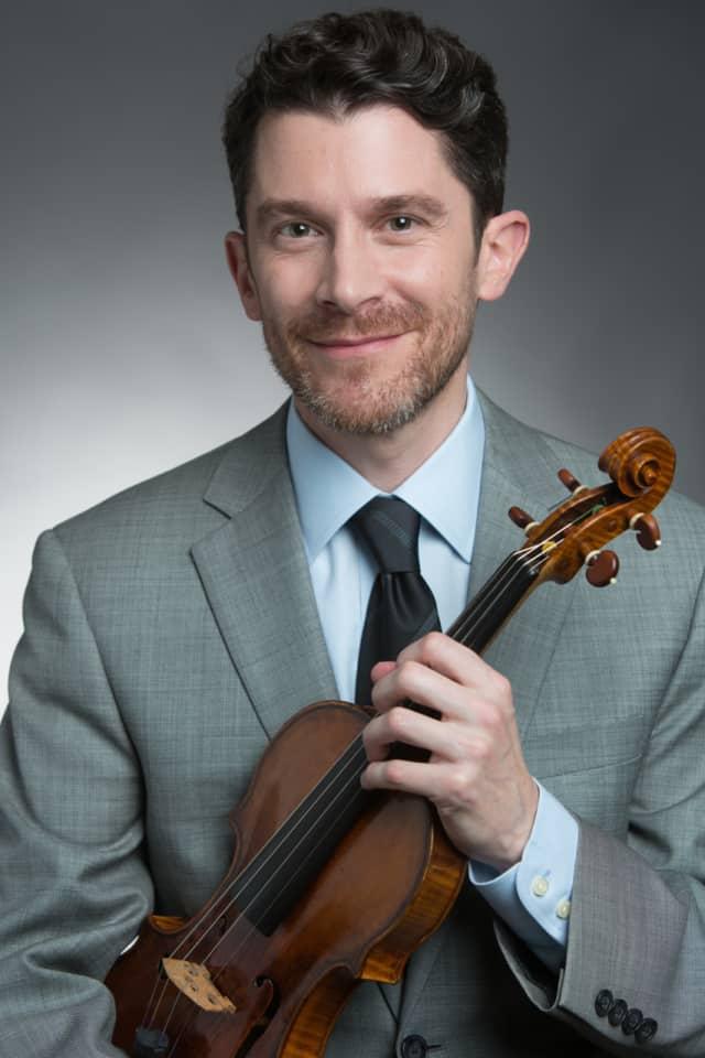 Violinist Robert Zubrycki will perform the works of Enrique Granados on Sunday at the Studio Around the Corner.