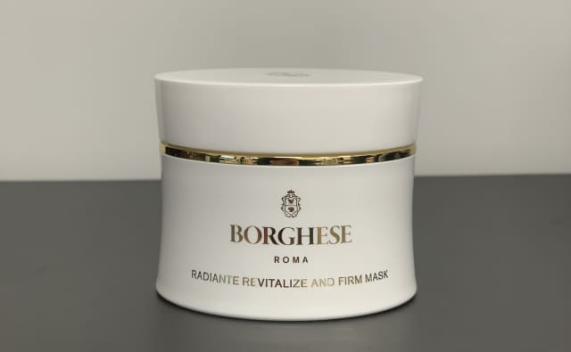 Borghese's Gold Mask leaves skin feeling taut yet supple and oh-so-smooth. Photograph by Sebastián Flores.