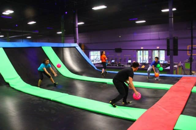 Bounce! Trampoline Sports will hold a grand opening in Danbury on May 21.