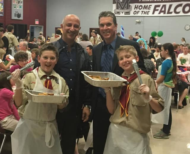 Mayor Mike Ghassali loved the pasta
