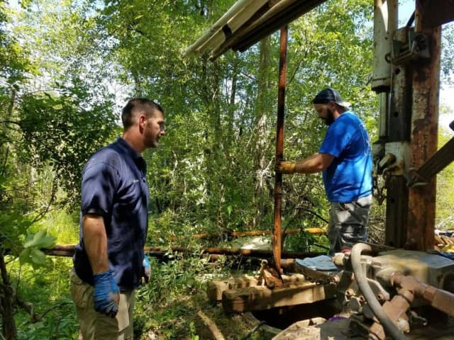 Henry Boyd Well Drillers gets to work to help address a water-supply crisis affecting Chateau Ridge in Mahopac.
