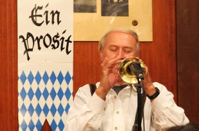 The band Breitenbach will entertain at Leonia's Oktoberfest.