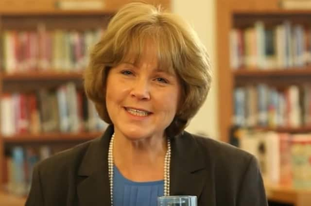 "Dr. Brenda Myers, superintendent of schools for the Valhalla Union Free School District, appears in ""Last Straw for NY Public Schools"" video."