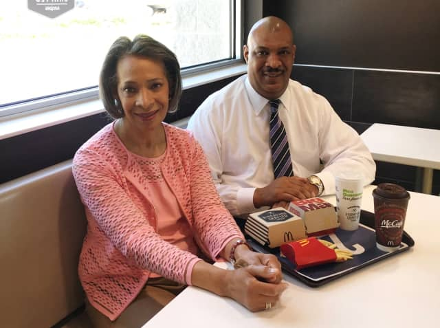 Linda Dunham and Brian Hairston own several McDonald's locations in Bergen County.