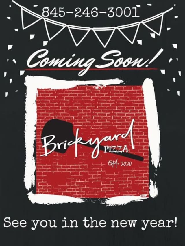Brickyard Pizza will open on the weekend of Saturday, Jan. 2.