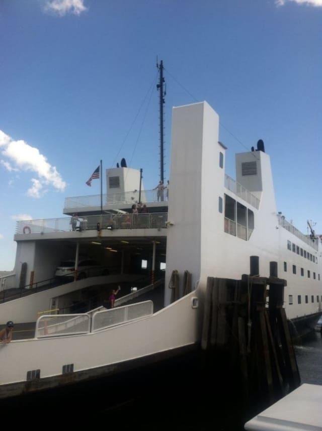 The Bridgeport & Port Jefferson Ferry