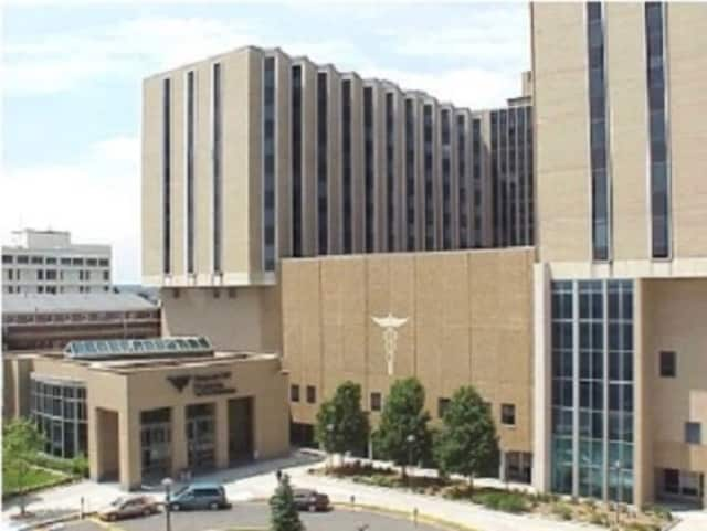 Bridgeport Hospital was placed on lockdown Friday afternoon.
