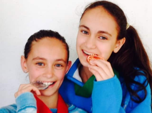 Francesca and Sara Brizio hope to taste sweet fencing victory at the upcoming Junior Olympics.