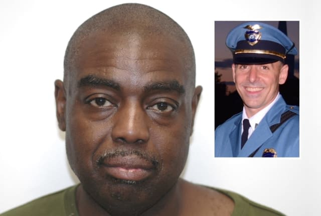 Sheffield C. Brown / INSET: Saddle River Police Chief Jason Cosgriff