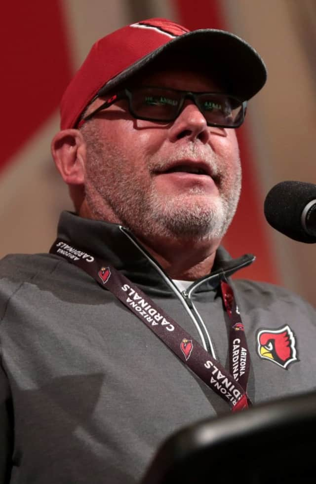 Bruce Arians of Paterson turns 64 on Monday.