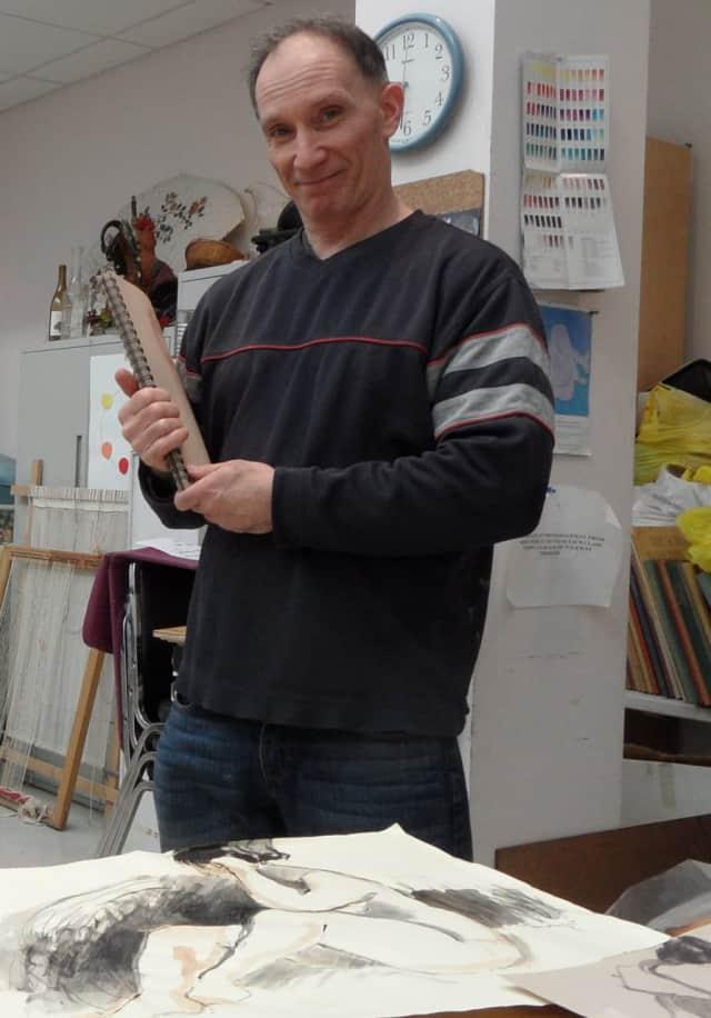 Artist David Buckbinder is offering painting classes in Fair Lawn.