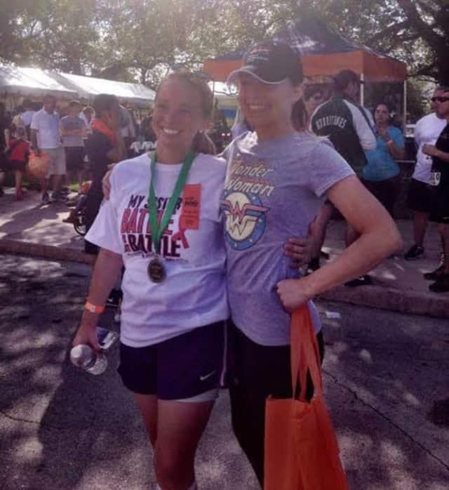 Chelsea (Krueger) Dubin and Caitlin Hannah Krueger.