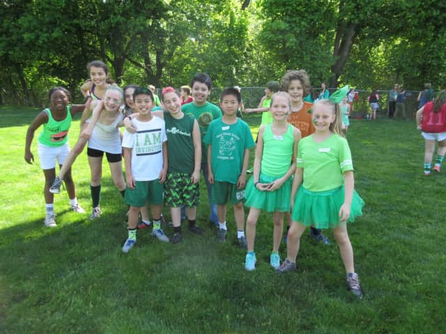 Irvington's Main Street School students exhibited teamwork and good sportsmanship during the annual Bulldog Day.
