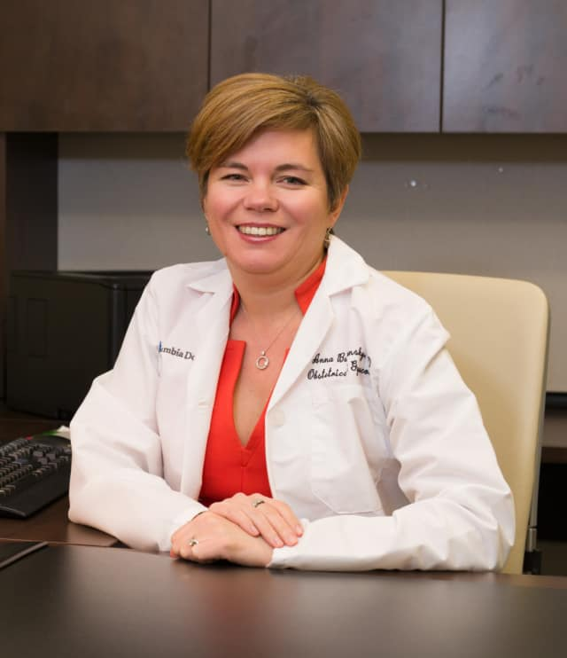Dr. Anna Burgansky, Assistant Professor of Obstetrics & Gynecology at Columbia University Medical Center.