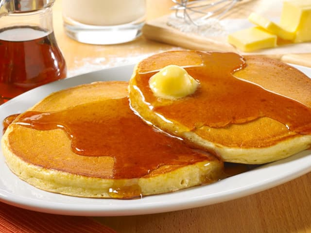 Get your free pancakes at Huddle House June 25.