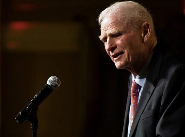 Former New Jersey Governor Brendan Byrne died Thursday at 93.