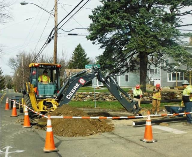 Eversource is doing $3.8 million in work to upgrade the gas distribution system in the Shippan section of Stamford.