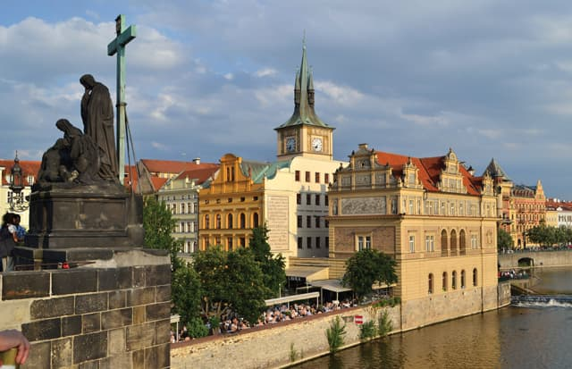 A view from Prague's Charles Bridge. Photograph courtesy Sloane Travel Photography.