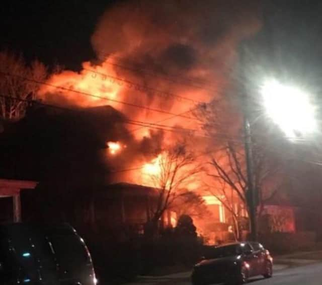 Multiple Westchester County fire departments assisted with a New Rochelle house fire.