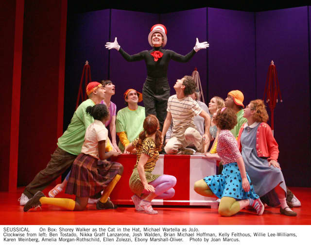 """The Ridgefield Playhouse will present """"Seussical The Musical"""" Saturday."""