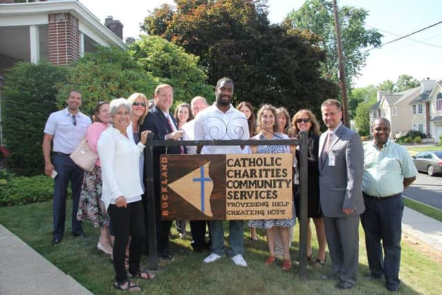 The unveiling of a new initiative from Rockland Independent Living Center and other county agencies at the Catholic Charities Community Services.