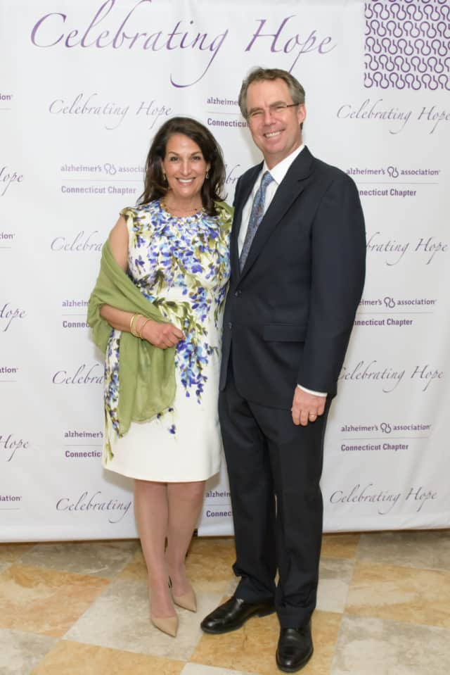 Nancy and John Bemis at the 2016 Celebrating Hope event.