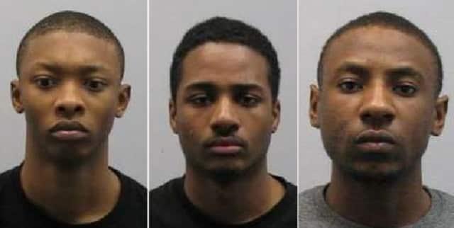 Terrell Clarkson, Khalid Brown, Travis Dickson