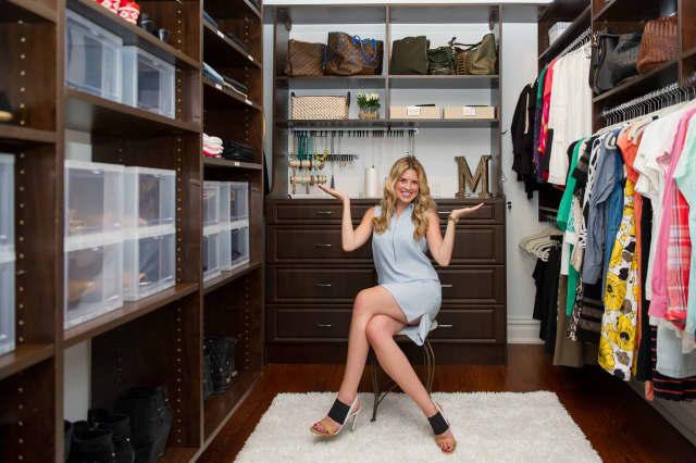 Home Organizer Christina Giaquinto.