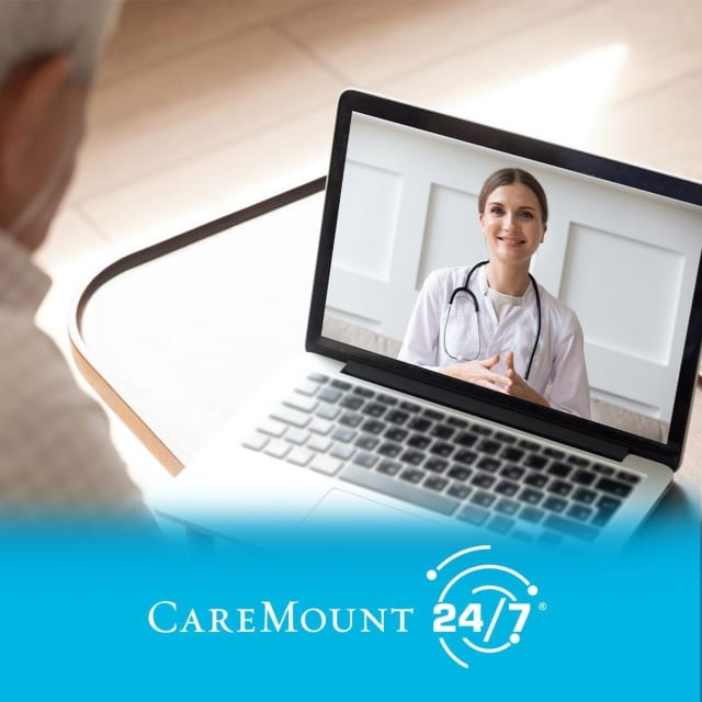 With CareMount Medical, you are able to do your virtual visit with your own personal provider, someone you already know and trust.