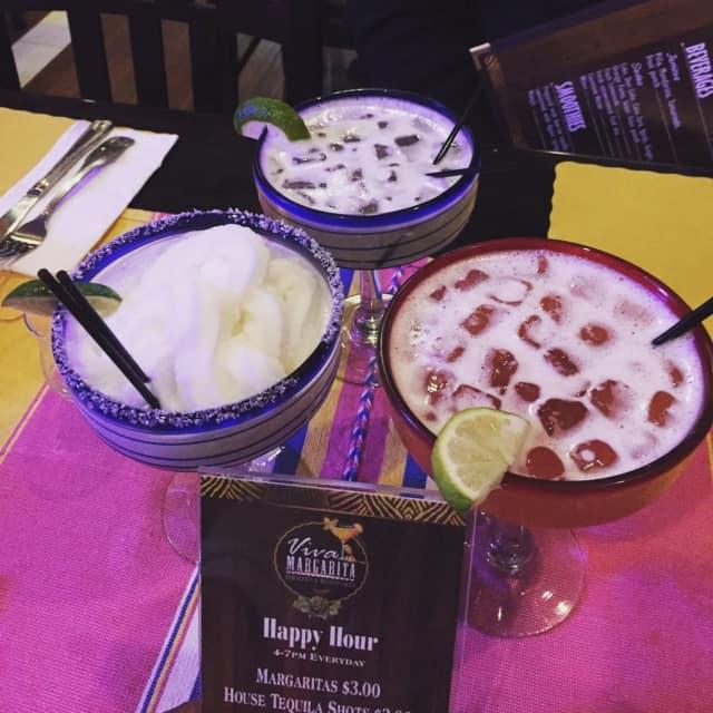 Viva Margarita is a local favorite for drinks in Cliffside Park.