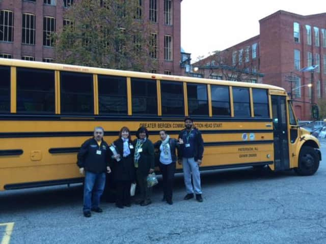 Cliffside Park bus drivers are ready to transport children to local Head Start programs throughout the area.