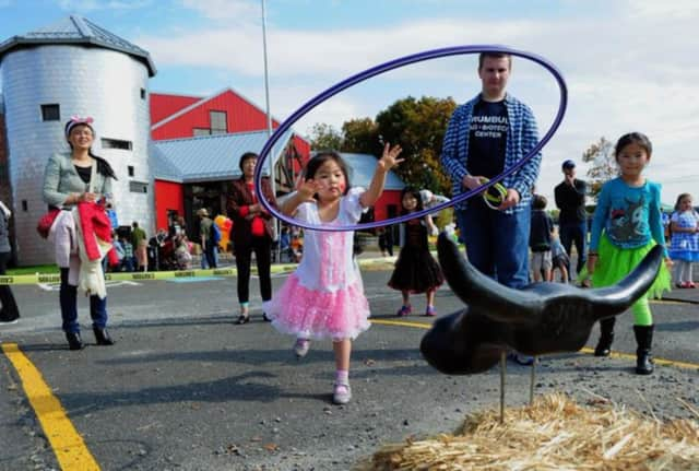 Children play at a previous Trumbull Fall Festival.