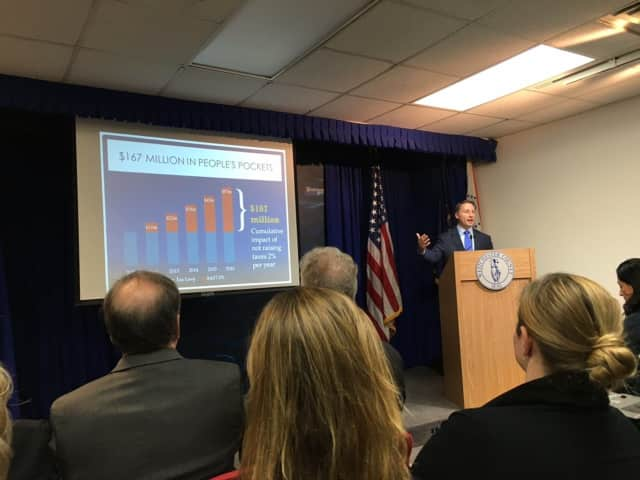Westchester County Executive Rob Astorino discusses fiscal matters.
