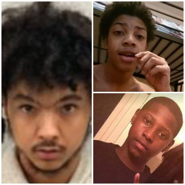 Tyreese Lewis (left), Dorien Ervin (top right), Kymaury Goldsby (bottom right).