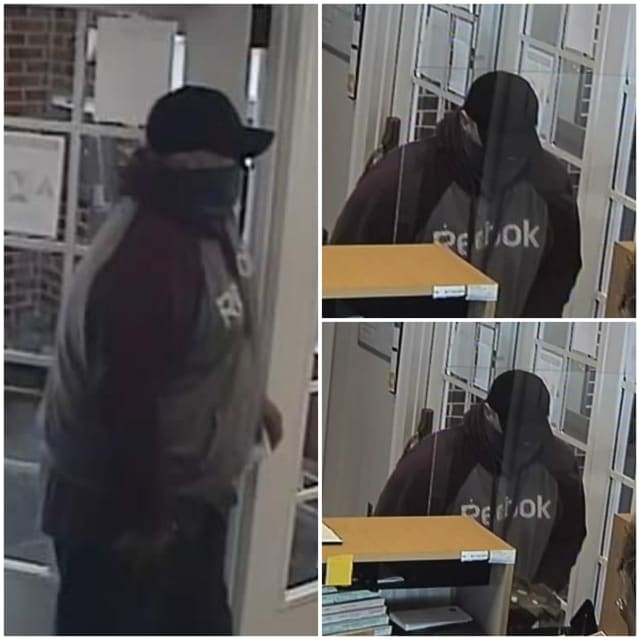 Suspected BB&T robber.