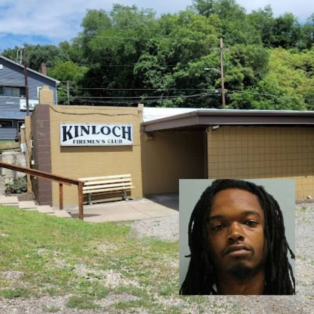 Kinloch Fire Department Hall and Father-to-be, Isiah Jumaane Hampton.