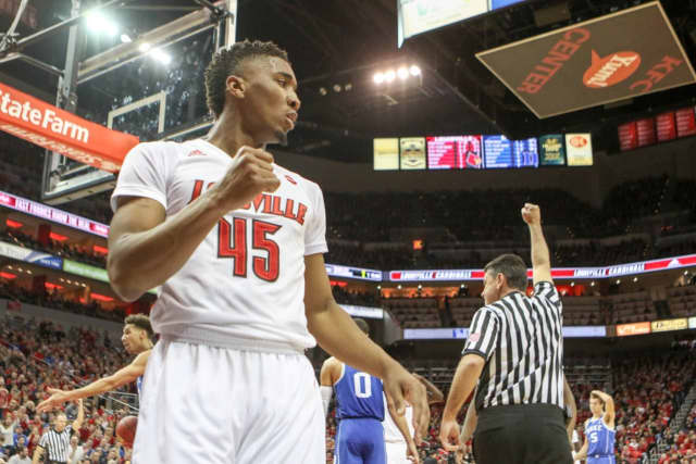 Donovan Mitchell starred at Louisville for two years.