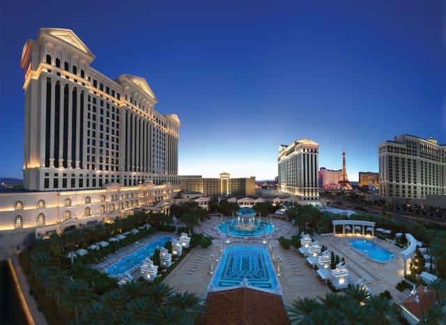 Caesars Palace Garden of the Gods Pool Oasis Las Vegas