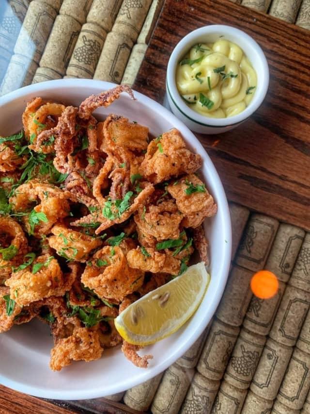 Calamares Fritos served at Villa Lobos Tapas Bar