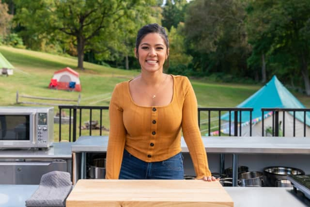 """Jessica Lugo of Lodi is a contestant on Food Network's """"Bakeaway Camp with Martha Stewart."""""""