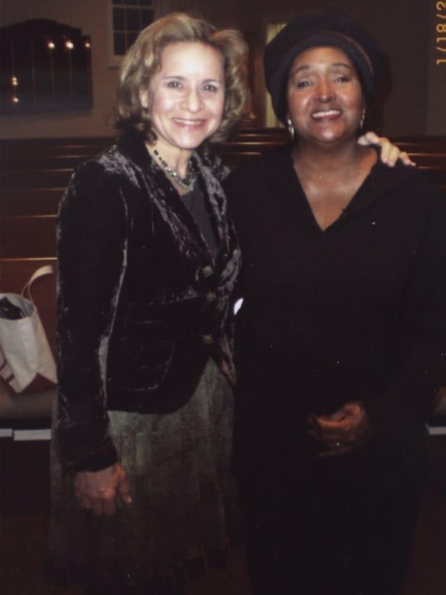 Cantor Deborah Katchko-Gray and Gigi Van Dyke