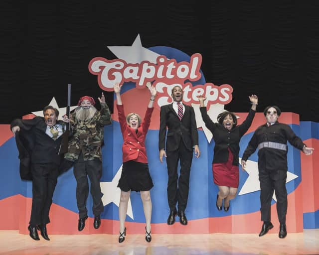 The Capitol Steps will perform at the Bergen Performing Arts Center on Dec. 9.