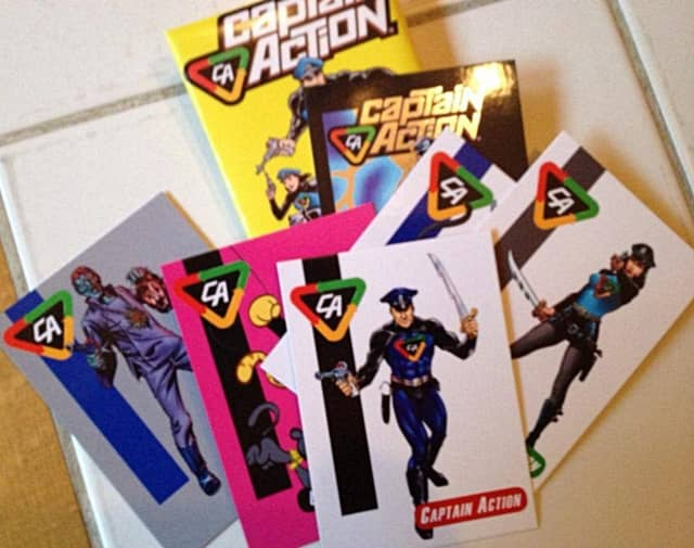 Amazing Heroes card sets will be available at this weekend's comic-con.
