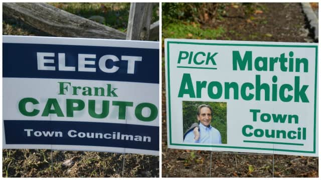 Frank Caputo and Martin Aronchick faced off in a special election to fill a vacant North Salem Town Board seat.