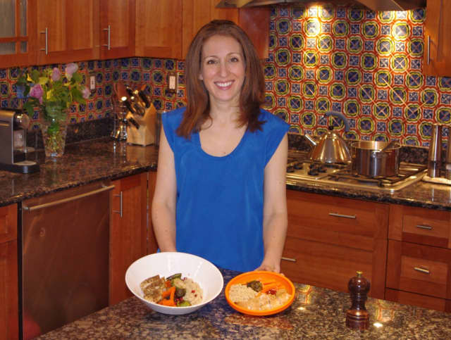 Larchmont resident Caren Weintraub, founder of the new meal-kit service, Simply Gather.